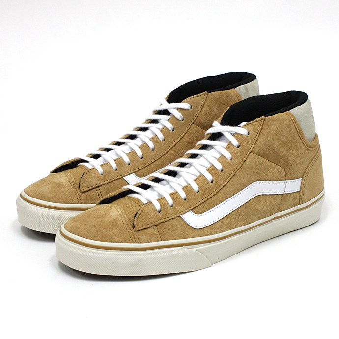 VANS Mid Skool '77 CA Suede - Bone Brown<img class='new_mark_img2' src='//img.shop-pro.jp/img/new/icons47.gif' style='border:none;display:inline;margin:0px;padding:0px;width:auto;' /> 01