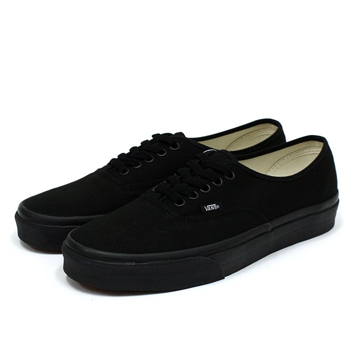 VANS Authentic - Black/Black<img class='new_mark_img2' src='//img.shop-pro.jp/img/new/icons47.gif' style='border:none;display:inline;margin:0px;padding:0px;width:auto;' /> 01