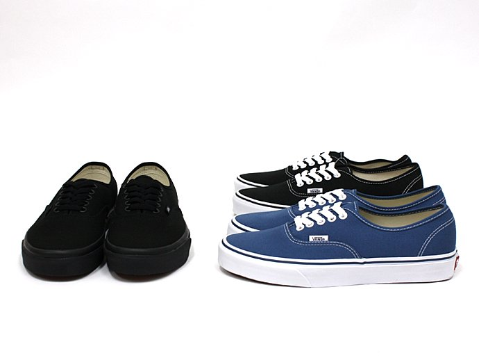 VANS Authentic - Black/Black<img class='new_mark_img2' src='//img.shop-pro.jp/img/new/icons47.gif' style='border:none;display:inline;margin:0px;padding:0px;width:auto;' /> 02