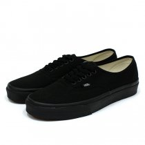 VANS / Authentic - Black/Black