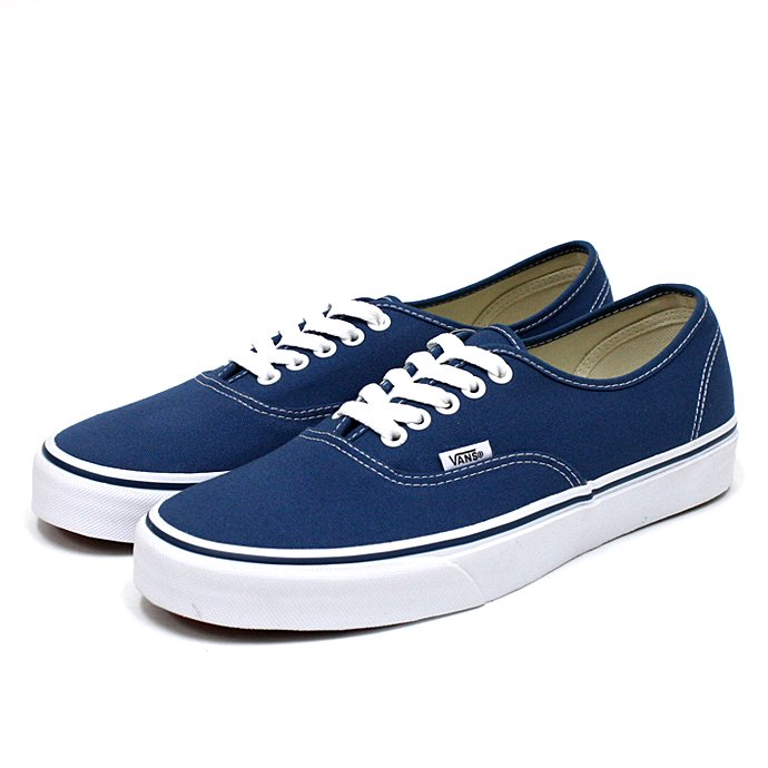 VANS Authentic - Navy<img class='new_mark_img2' src='//img.shop-pro.jp/img/new/icons47.gif' style='border:none;display:inline;margin:0px;padding:0px;width:auto;' /> 01