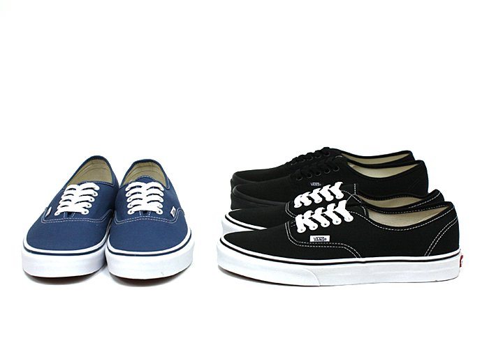 VANS Authentic - Navy<img class='new_mark_img2' src='//img.shop-pro.jp/img/new/icons47.gif' style='border:none;display:inline;margin:0px;padding:0px;width:auto;' /> 02