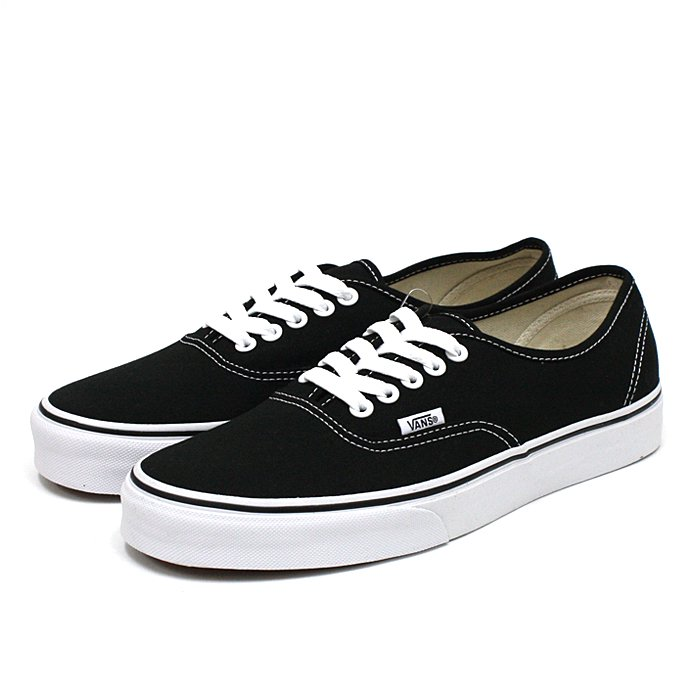 56739668 VANS / Authentic - Black<img class='new_mark_img2' src='//img.shop-pro.jp/img/new/icons47.gif' style='border:none;display:inline;margin:0px;padding:0px;width:auto;' /> 01