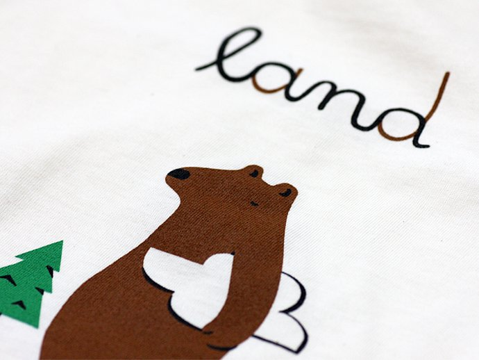 Other Brands Tae Won Yu / Land Bear Tシャツ<img class='new_mark_img2' src='//img.shop-pro.jp/img/new/icons47.gif' style='border:none;display:inline;margin:0px;padding:0px;width:auto;' /> 02