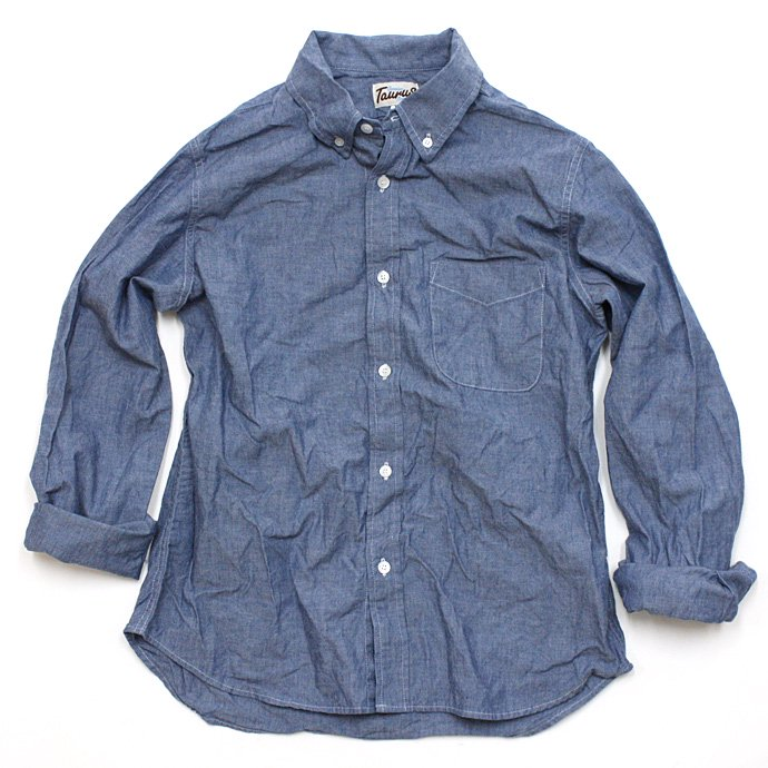 TAURUS Chambray Sport Shirt<img class='new_mark_img2' src='//img.shop-pro.jp/img/new/icons47.gif' style='border:none;display:inline;margin:0px;padding:0px;width:auto;' /> 01