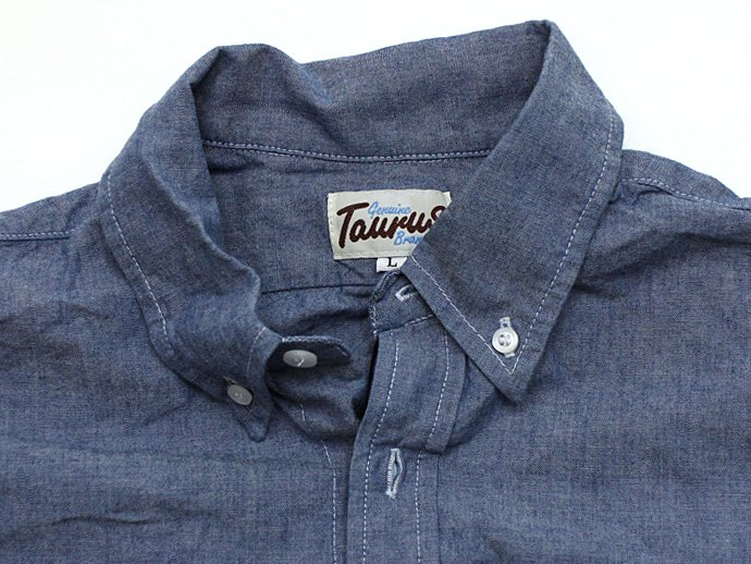 TAURUS Chambray Sport Shirt<img class='new_mark_img2' src='//img.shop-pro.jp/img/new/icons47.gif' style='border:none;display:inline;margin:0px;padding:0px;width:auto;' /> 02