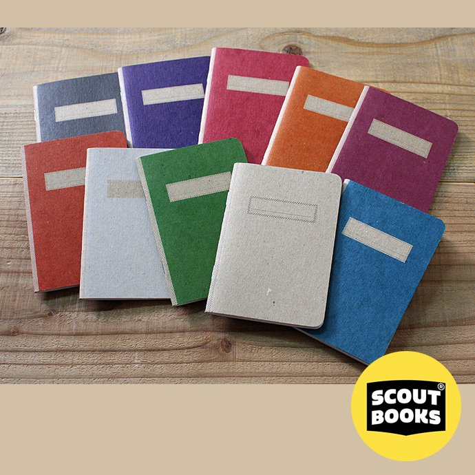 57047743 SCOUT BOOKS / Composition Notebook(コンポジション ノートブック) - Black 01