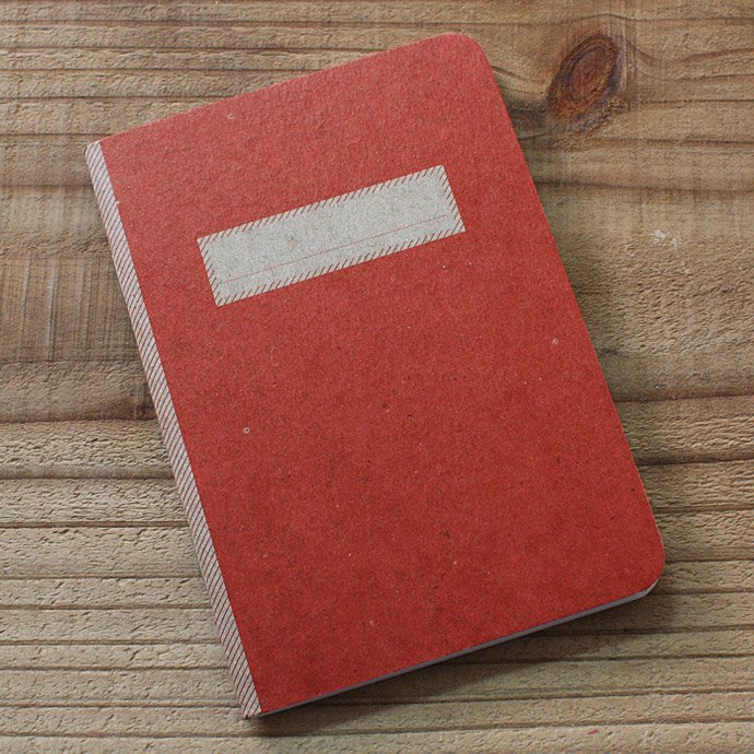 SCOUT BOOKS Composition Notebook(コンポジション ノートブック) - Red 01