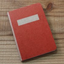 SCOUT BOOKS Composition Notebook(コンポジション ノートブック) - Red