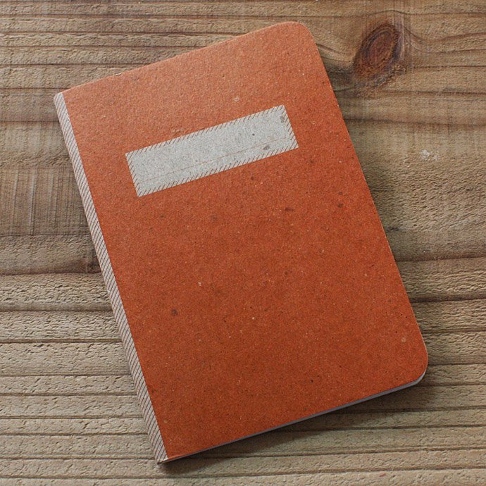 SCOUT BOOKS Composition Notebook(コンポジション ノートブック) - Orange 01