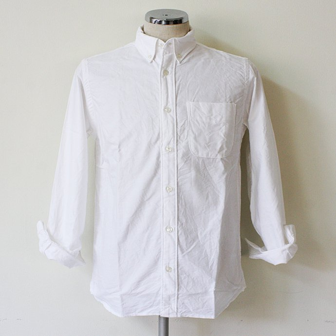 57356566 TAURUS / Oxford Shirt - White<img class='new_mark_img2' src='//img.shop-pro.jp/img/new/icons47.gif' style='border:none;display:inline;margin:0px;padding:0px;width:auto;' /> 01