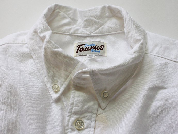 TAURUS Oxford Shirt - White<img class='new_mark_img2' src='//img.shop-pro.jp/img/new/icons47.gif' style='border:none;display:inline;margin:0px;padding:0px;width:auto;' /> 02
