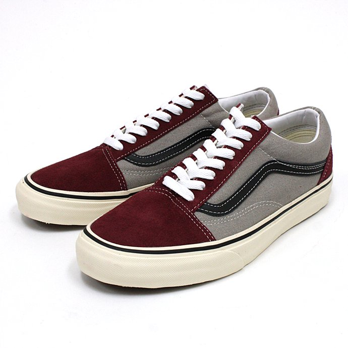 VANS 2 Tone Old Skool - Tawny Port/Frost Gray<img class='new_mark_img2' src='//img.shop-pro.jp/img/new/icons47.gif' style='border:none;display:inline;margin:0px;padding:0px;width:auto;' /> 01