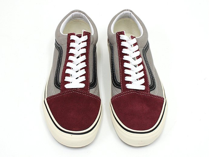 VANS 2 Tone Old Skool - Tawny Port/Frost Gray<img class='new_mark_img2' src='//img.shop-pro.jp/img/new/icons47.gif' style='border:none;display:inline;margin:0px;padding:0px;width:auto;' /> 02
