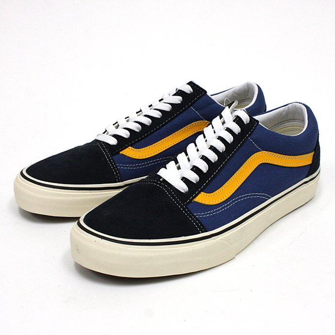 57798333 VANS / 2 Tone Old Skool - Navy/Citrus<img class='new_mark_img2' src='//img.shop-pro.jp/img/new/icons47.gif' style='border:none;display:inline;margin:0px;padding:0px;width:auto;' /> 01