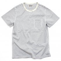 TAURUS / Flat Seamed Pocket Tee - Grey<img class='new_mark_img2' src='//img.shop-pro.jp/img/new/icons47.gif' style='border:none;display:inline;margin:0px;padding:0px;width:auto;' />