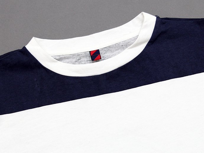 60092993 Trad Marks / Wide Stripe Tee - Navy<img class='new_mark_img2' src='//img.shop-pro.jp/img/new/icons47.gif' style='border:none;display:inline;margin:0px;padding:0px;width:auto;' /> 02