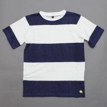 Trad Marks / Wide Stripe Tee - Navy<img class='new_mark_img2' src='//img.shop-pro.jp/img/new/icons47.gif' style='border:none;display:inline;margin:0px;padding:0px;width:auto;' />