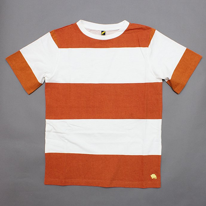Trad Marks Trad Marks / Wide Stripe Tee - Orange<img class='new_mark_img2' src='//img.shop-pro.jp/img/new/icons47.gif' style='border:none;display:inline;margin:0px;padding:0px;width:auto;' /> 01