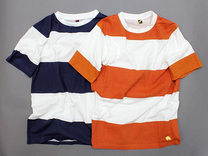 Trad Marks Trad Marks / Wide Stripe Tee - Orange<img class='new_mark_img2' src='//img.shop-pro.jp/img/new/icons47.gif' style='border:none;display:inline;margin:0px;padding:0px;width:auto;' /> 02