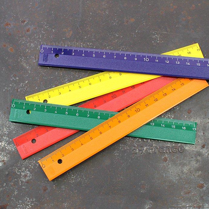 KUM / マットカラールーラー L1 17cm定規(全5色)