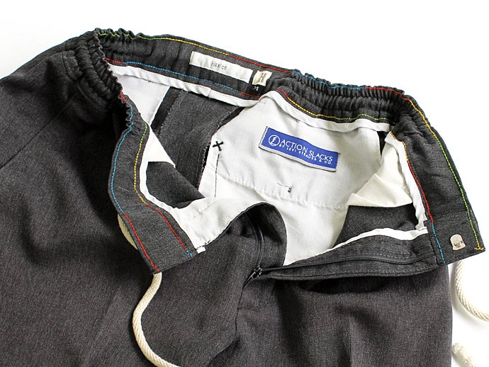 Hexico Deformer Pants - Quarter Easy Ex. U.S. Action Slacks - Charcoal M<img class='new_mark_img2' src='//img.shop-pro.jp/img/new/icons47.gif' style='border:none;display:inline;margin:0px;padding:0px;width:auto;' /> 02