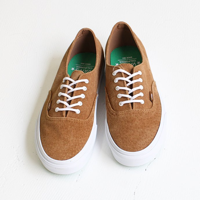 VANS / CA Buck Authentic Decon CA - Bronze Brown<img class='new_mark_img2' src='//img.shop-pro.jp/img/new/icons47.gif' style='border:none;display:inline;margin:0px;padding:0px;width:auto;' />