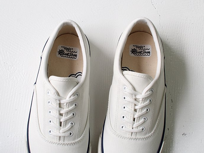 Other Brands U.S. Keds / 1960 Boat Shoe - Blanc(White)<img class='new_mark_img2' src='//img.shop-pro.jp/img/new/icons47.gif' style='border:none;display:inline;margin:0px;padding:0px;width:auto;' /> 02