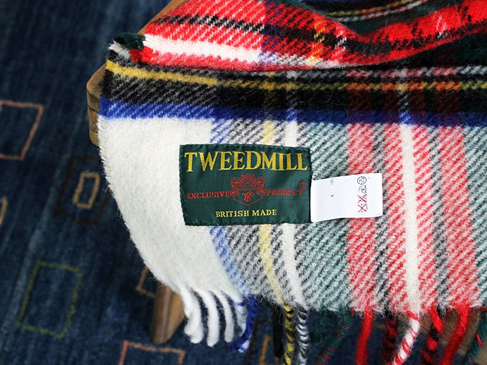 TWEEDMILL TWEEDMILL / ウール チェックブランケット - オフホワイト<img class='new_mark_img2' src='//img.shop-pro.jp/img/new/icons47.gif' style='border:none;display:inline;margin:0px;padding:0px;width:auto;' /> 02