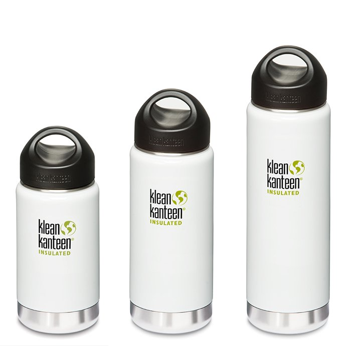 Klean Kanteen ワイド・インスレート グレーシャーホワイト 12oz./16oz./20oz.<img class='new_mark_img2' src='//img.shop-pro.jp/img/new/icons47.gif' style='border:none;display:inline;margin:0px;padding:0px;width:auto;' /> 01