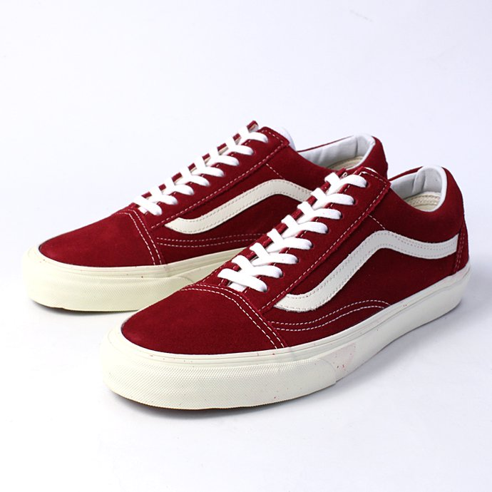 VANS Old Skool Vintage - Rio Red<img class='new_mark_img2' src='//img.shop-pro.jp/img/new/icons47.gif' style='border:none;display:inline;margin:0px;padding:0px;width:auto;' /> 01