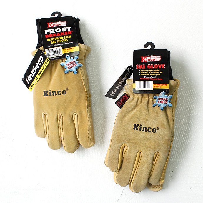 Other Brands Kinco Gloves / 901 Lined Pigskin Ski Glove<img class='new_mark_img2' src='//img.shop-pro.jp/img/new/icons47.gif' style='border:none;display:inline;margin:0px;padding:0px;width:auto;' /> 01