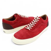 VANS 2 Tone Old Skool Reissue CA - Tango Red/Winetasting