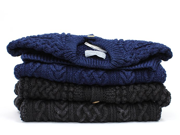 INVERALLAN INVERALLAN / 1A Crewneck Sweater - Dark Denim<img class='new_mark_img2' src='//img.shop-pro.jp/img/new/icons47.gif' style='border:none;display:inline;margin:0px;padding:0px;width:auto;' /> 02