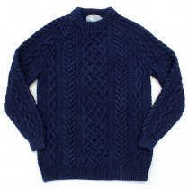 INVERALLAN INVERALLAN / 1A Crewneck Sweater - Dark Denim<img class='new_mark_img2' src='//img.shop-pro.jp/img/new/icons47.gif' style='border:none;display:inline;margin:0px;padding:0px;width:auto;' />