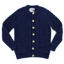 INVERALLAN INVERALLAN / 4A Golfer Cardigan - Dark Denim<img class='new_mark_img2' src='//img.shop-pro.jp/img/new/icons47.gif' style='border:none;display:inline;margin:0px;padding:0px;width:auto;' />