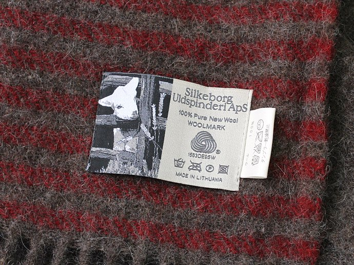 66907657 Silkeborg Plaids(シルケボー・プレイド) / ウールブランケット DANAJA/0173レッド<img class='new_mark_img2' src='//img.shop-pro.jp/img/new/icons47.gif' style='border:none;display:inline;margin:0px;padding:0px;width:auto;' /> 02