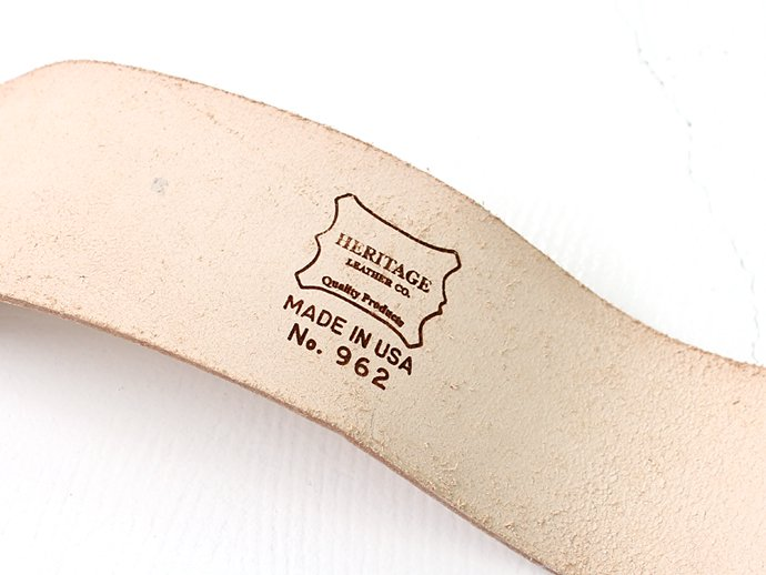 "Other Brands Heritage Leather Co. / 2 &#190;"" Heavy Duty Tapered Width Leather Belt<img class='new_mark_img2' src='//img.shop-pro.jp/img/new/icons47.gif' style='border:none;display:inline;margin:0px;padding:0px;width:auto;' /> 02"