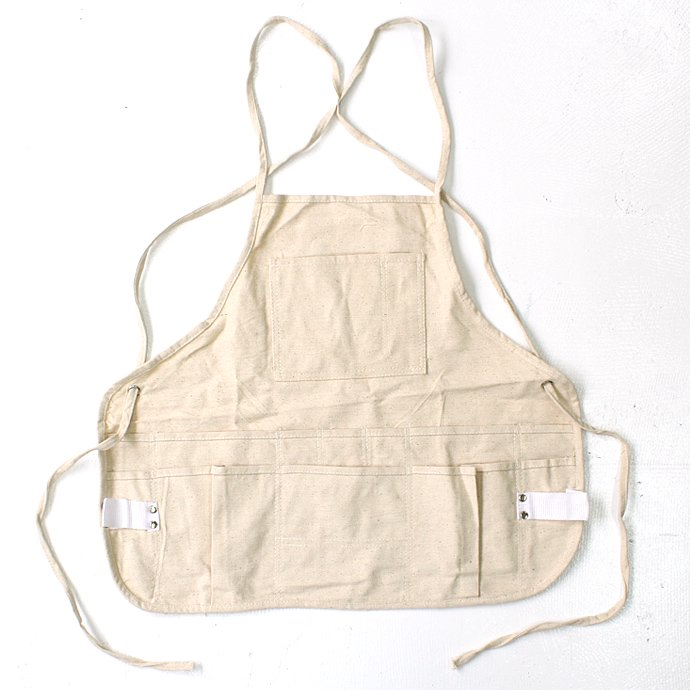 Heritage Leather Co. / 14-Pocket, Double Tier, Professional Bib Style Apron<img class='new_mark_img2' src='//img.shop-pro.jp/img/new/icons47.gif' style='border:none;display:inline;margin:0px;padding:0px;width:auto;' />