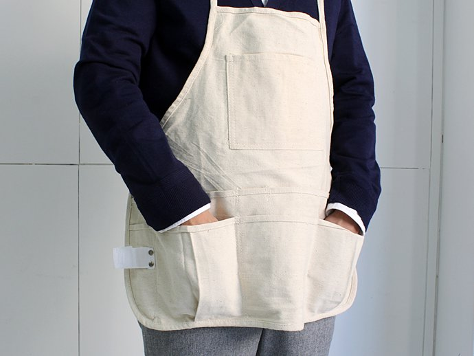 66950188 Heritage Leather Co. / 14-Pocket, Double Tier, Professional Bib Style Apron<img class='new_mark_img2' src='//img.shop-pro.jp/img/new/icons47.gif' style='border:none;display:inline;margin:0px;padding:0px;width:auto;' /> 02