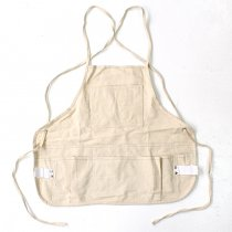 Heritage Leather Co. / 14-Pocket, Double Tier, Professional Bib Style Apron