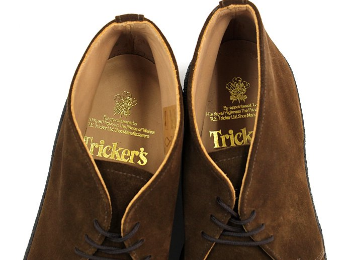 Tricker's 3 Eyelet Mudguard Chukka Boot - Snuff Suede<img class='new_mark_img2' src='//img.shop-pro.jp/img/new/icons47.gif' style='border:none;display:inline;margin:0px;padding:0px;width:auto;' /> 02