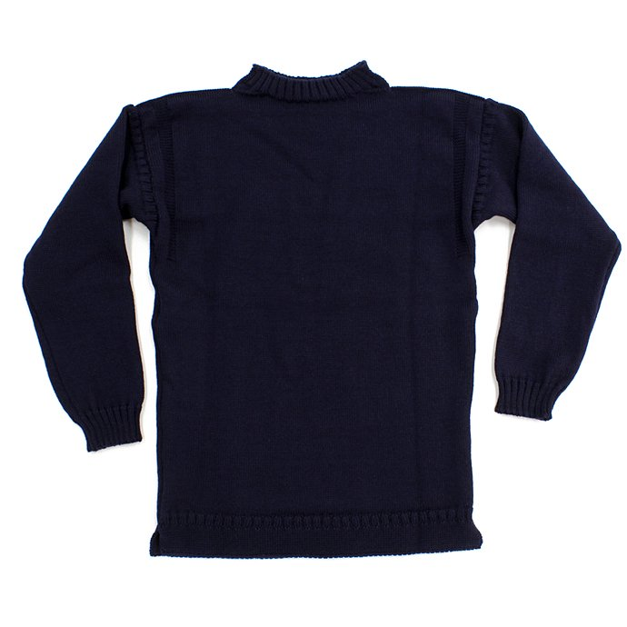67178373 Guernsey Woollens / The Traditional Guernsey Sweater - Navy ガンジーウーレンズ ガンジーセーター ネイビー<img class='new_mark_img2' src='//img.shop-pro.jp/img/new/icons47.gif' style='border:none;display:inline;margin:0px;padding:0px;width:auto;' /> 01