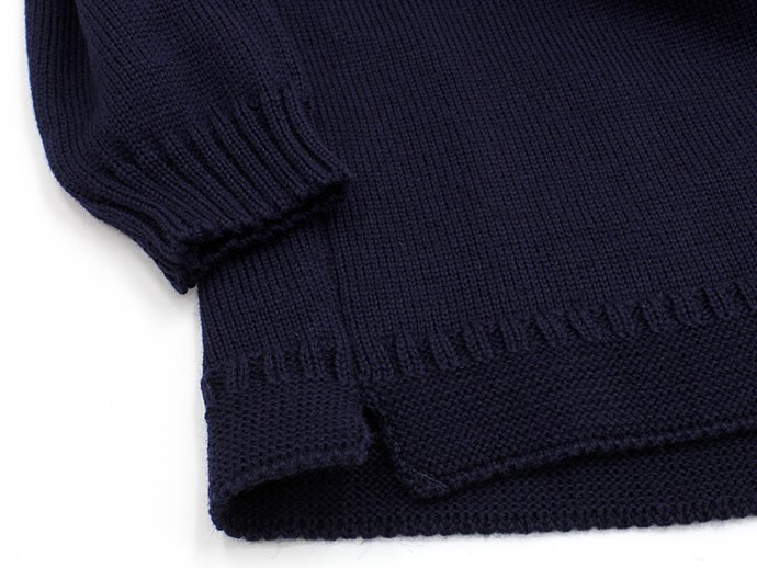 Other Brands Guernsey Woollens / The Traditional Guernsey Sweater - Navy ガンジーウーレンズ ガンジーセーター ネイビー<img class='new_mark_img2' src='//img.shop-pro.jp/img/new/icons47.gif' style='border:none;display:inline;margin:0px;padding:0px;width:auto;' /> 02