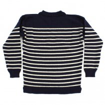 Other Brands Guernsey Woollens / The Traditional Guernsey Sweater - Navy/Ecru ガンジーウーレンズ ガンジーセーター ネイビー/生成