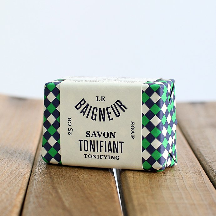 Other Brands LE BAIGNEUR / MINI SAVON - TONIFIANT ル・ベヌール ミニソープ 25g トニックソープ 01