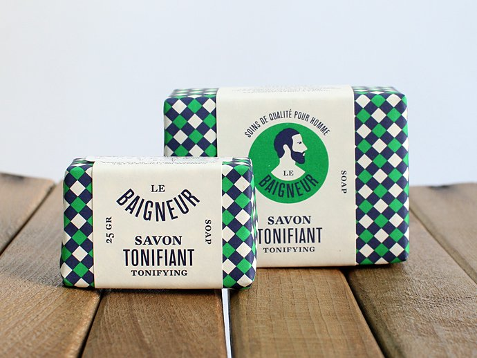 Other Brands LE BAIGNEUR / MINI SAVON - TONIFIANT ル・ベヌール ミニソープ 25g トニックソープ 02