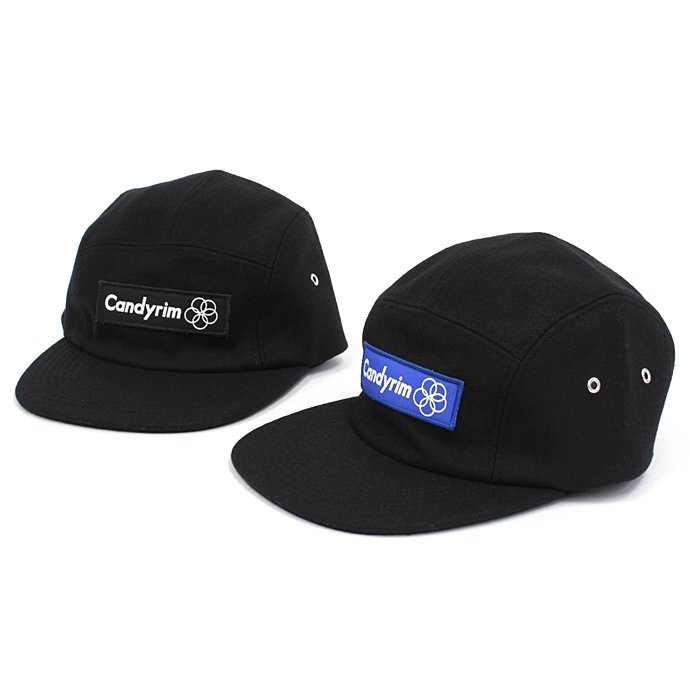 Other Brands Candyrim / Wool 5-Panel Cap - Black<img class='new_mark_img2' src='//img.shop-pro.jp/img/new/icons47.gif' style='border:none;display:inline;margin:0px;padding:0px;width:auto;' /> 01
