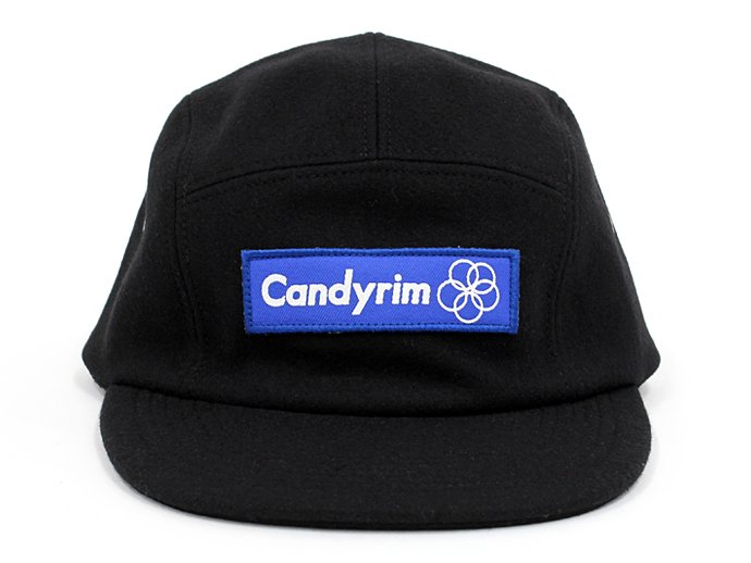 Other Brands Candyrim / Wool 5-Panel Cap - Black<img class='new_mark_img2' src='//img.shop-pro.jp/img/new/icons47.gif' style='border:none;display:inline;margin:0px;padding:0px;width:auto;' /> 02