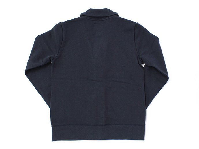 68663276 STILL BY HAND / 度詰めスウェット ショールカラーカーディガン - Navy<img class='new_mark_img2' src='//img.shop-pro.jp/img/new/icons47.gif' style='border:none;display:inline;margin:0px;padding:0px;width:auto;' /> 02